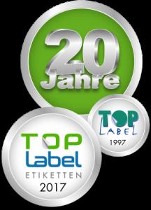 TOP-LABEL 20 Jahre