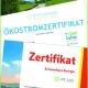 Erneuerbare Energien Zertifikate